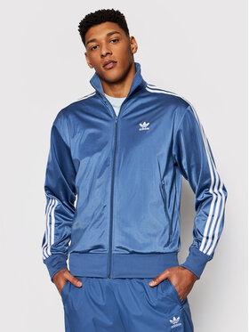 adidas adidas Bluză adicolor Classics Firebird GN3522 Albastru Regular Fit