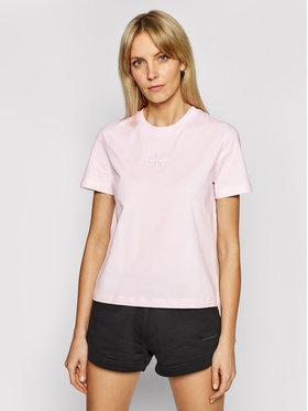 Calvin Klein Jeans Calvin Klein Jeans T-Shirt J20J215497 Różowy Regular Fit