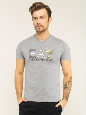 EA7 Emporio Armani EA7 Emporio Armani T-shirt 3HPT06 PJ02Z 3905 Grigio Regular Fit