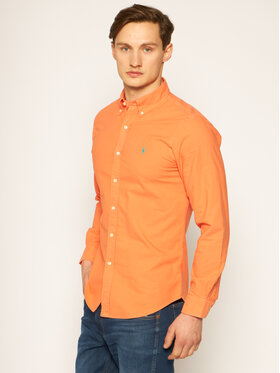 Polo Ralph Lauren Polo Ralph Lauren Chemise Classics 710788043 Orange Slim Fit