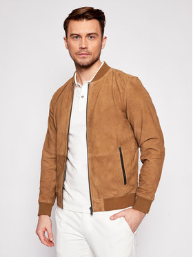 Jack&Jones Jack&Jones Bomber bunda Blacramer 12192854 Hnedá Regular Fit