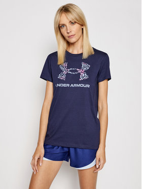 Under Armour Under Armour T-shirt Ua Sportstyle Graphic 1356305 Tamnoplava Loose Fit