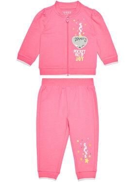 Guess Guess Φόρμα A1RG04 KA6V0 Ροζ Regular Fit