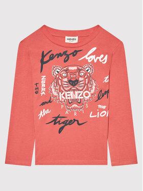 Kenzo Kids Kenzo Kids Bluzka K15170 Różowy Regular Fit