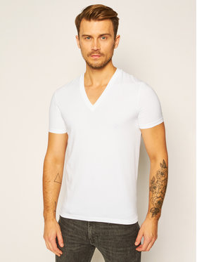 Dsquared2 Underwear Dsquared2 Underwear T-shirt DCM450030 Bianco Slim Fit