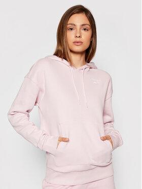 Reebok Reebok Bluza Identity GS9369 Różowy Regular Fit