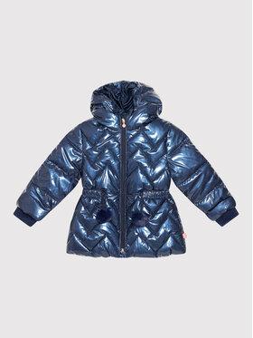 Billieblush Billieblush Pūkinė striukė U16302 Tamsiai mėlyna Regular Fit