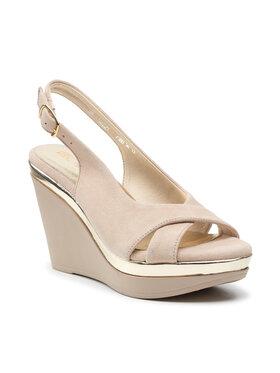 Carinii Carinii Sandále B7380 Béžová
