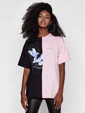 Local Heroes Local Heroes T-Shirt Half Holly Tee AW2021T0009 Kolorowy Oversize