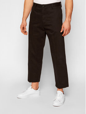 Levi's® Levi's® Παντελόνι υφασμάτινο Chino™ Stay Loose 24922-0008 Μαύρο Loose Fit