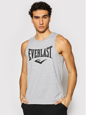 Everlast EVERLAST Tank top 20127113-22 Šedá Regular Fit