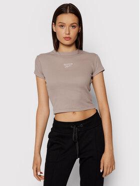 Reebok Reebok T-Shirt Classics GS1698 Szary Slim Fit