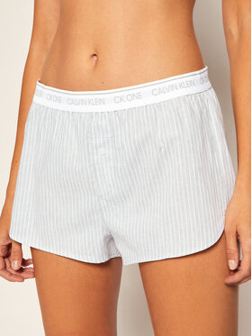 Calvin Klein Underwear Calvin Klein Underwear Pyjamashorts Sleep 000QS6437E Grau Regular Fit
