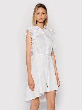 Rinascimento Rinascimento Vestito chemisier CFC0017910002 Bianco Regular Fit