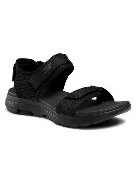 Geox Geox Sandale Go Walk 5 229003/BBK Negru