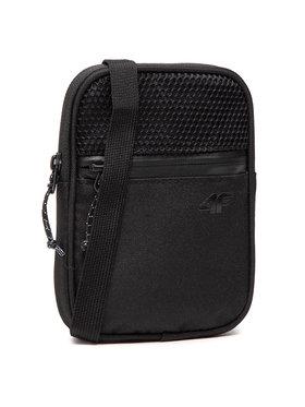 4F 4F Мъжка чантичка H4L21-TRU001 Черен