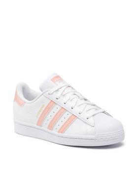 adidas adidas Chaussures Superstar H00162 Blanc