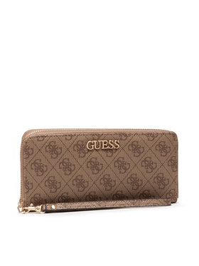 Guess Guess Portefeuille femme grand format Alby Slg SWSS74 55460 Marron
