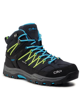 CMP CMP Παπούτσια πεζοπορίας Kids Rigel Mid Trekking Shoes Wp 3Q12944J Μαύρο