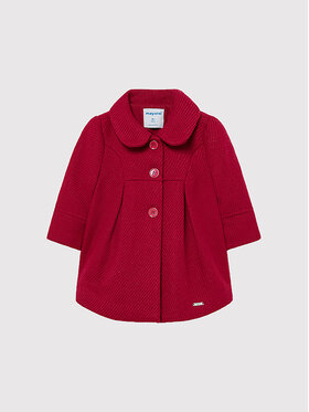 Mayoral Mayoral Cappotto 2434 Rosso Regular Fit
