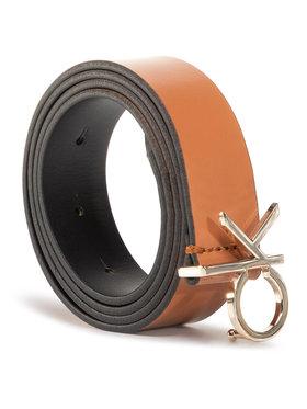 Calvin Klein Calvin Klein Pasek Damski Ck Low Fix Belt 3.0 K60K606716 Brązowy