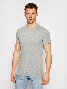 Versace Versace T-shirt Girocollo AUU04023 Grigio Slim Fit