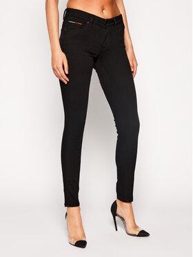 Tommy Jeans Tommy Jeans Blugi Slim Fit DW0DW04408 Negru Slim Fit