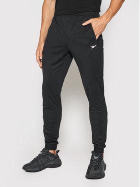 Reebok Reebok Spodnie dresowe Knit Track GL3098 Czarny Slim Fit