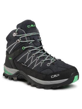 CMP CMP Παπούτσια πεζοπορίας Rigel Mid Trekking Shoe Wp 3Q12947 Σκούρο μπλε