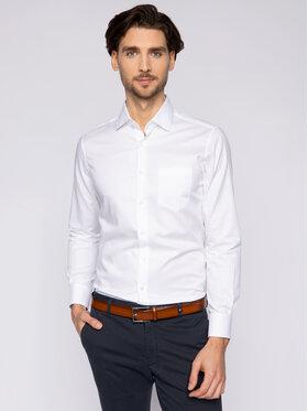 Pierre Cardin Pierre Cardin Marškiniai 5797/000/27000 Balta Modern Fit
