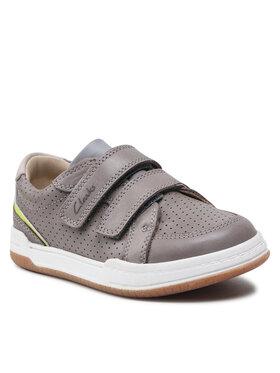 Clarks Clarks Sneakersy Fawn Solo K 261624997 Szary
