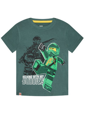 LEGO Wear LEGO Wear T-Shirt 12010021 Grün Regular Fit