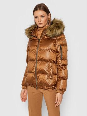 Geox Geox Pernata jakna Backsie W1428S T2843 F6211 Smeđa Regular Fit