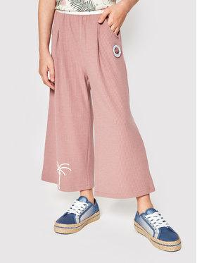 Femi Stories Femi Stories Текстилни панталони Darby Розов Regular Fit