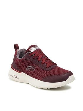 Skechers Skechers Schuhe Fast Brake 12947/BURG Dunkelrot