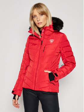 Rossignol Rossignol Μπουφάν για σκι Rapide Pearly RLIWJ71 Κόκκινο Slim Fit