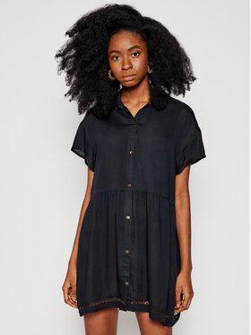 Roxy Roxy Sukienka plażowa Beauty Truth ERJX603204 Czarny Relaxed Fit