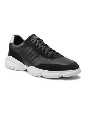Boss Boss Sneakersy Rapid Runn 50454970 10222004 01 Granatowy