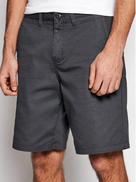 Vans Vans Pantalon scurți din material Authentic Stretch VN0A5FEC Gri Regular Fit