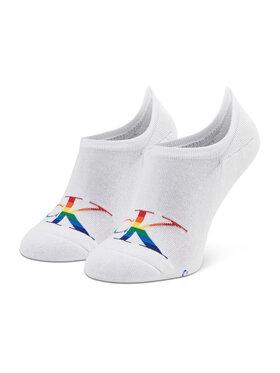Calvin Klein Jeans Calvin Klein Jeans Pánske krátke ponožky 100002999 r.OS Biela