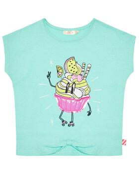 Billieblush Billieblush Marškinėliai U15883 Žalia Regular Fit