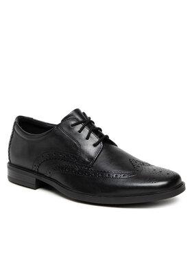 Clarks Clarks Κλειστά παπούτσια Howard Wing 261612537 Μαύρο