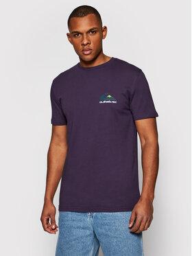 Quiksilver Quiksilver T-Shirt Reflect EQYZT06372 Fialová Regular Fit