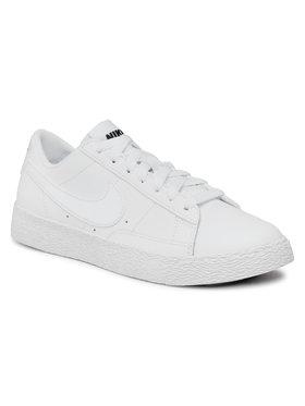 Nike Nike Topánky Blazer Low (GS) 555190 102 Biela