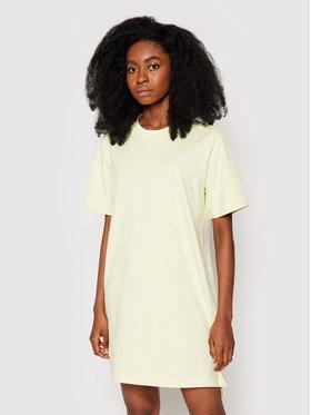 adidas adidas Sukienka codzienna Tennis Luxe Tee H56458 Żółty Regular Fit