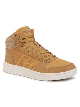 adidas adidas Pantofi Hoops 2.0 Mid FW3516 Galben