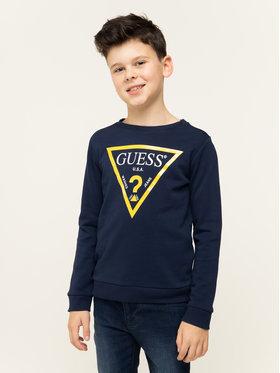 Guess Guess Μπλούζα Junior Core L73Q09 K5WK0 Σκούρο μπλε Regular Fit