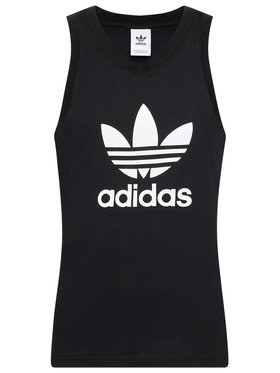 adidas adidas Trikó Trefoil DV1509 Fekete Regular Fit