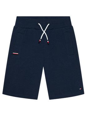 Tommy Hilfiger Tommy Hilfiger Pantaloncini sportivi Rib Insert KB0KB06597 D Blu scuro Regular Fit
