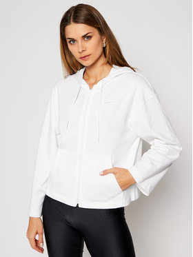 NIKE NIKE Bluza Nsw Hoodie Full-Zip CJ3752 Biały Loose Fit
